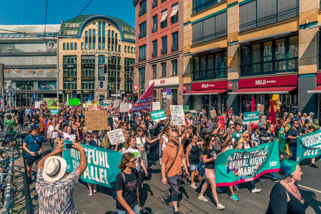 Animal Rights March Berlin 2019