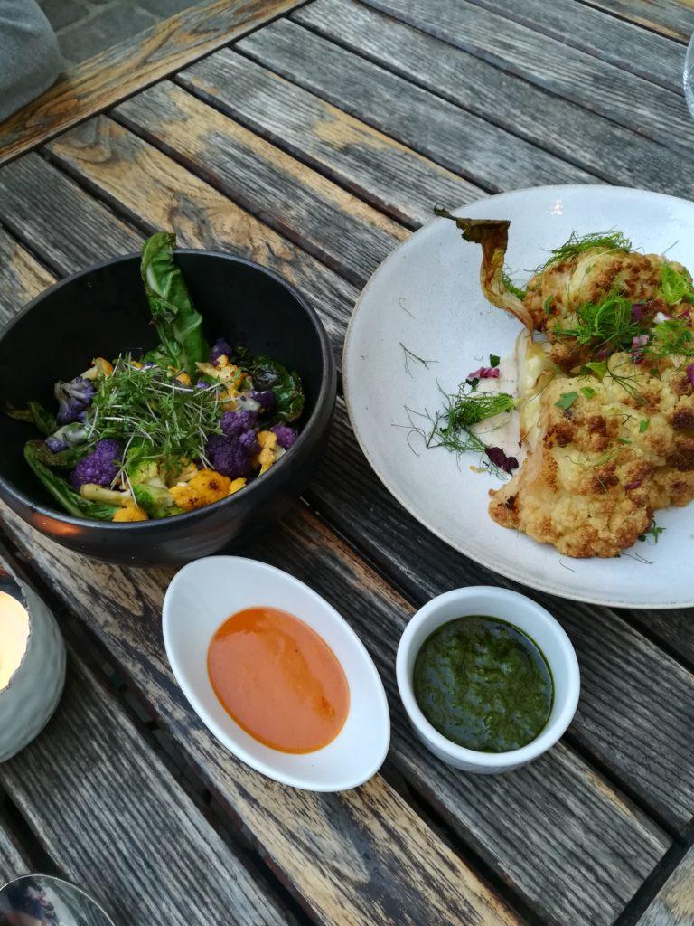 Chefs Garden Menü im Tians Bistro - Zweierlei Hauptgang