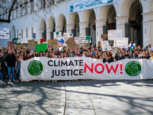 Klimastreik Fridays for Future