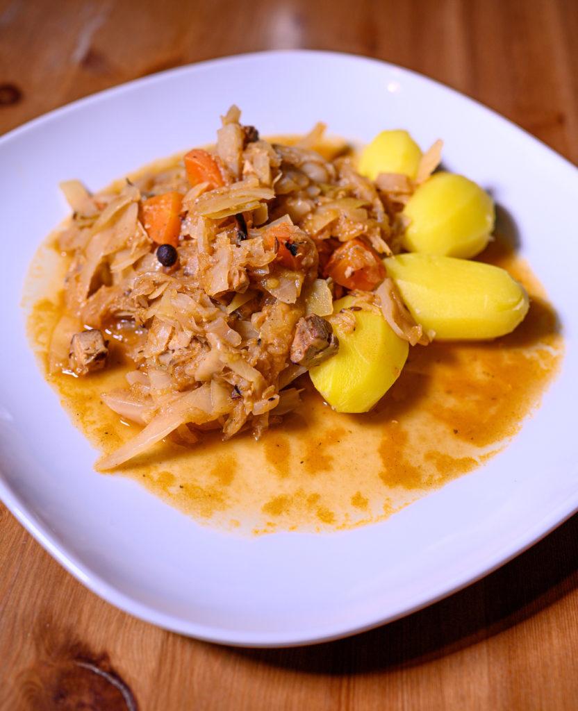 Polnisches Bigos vegan
